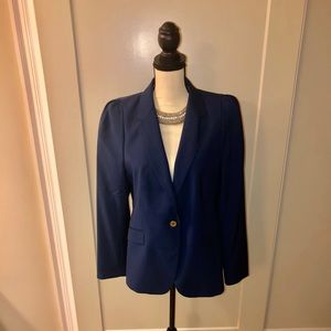 NWOT Zara Woman Navy Blazer Size XL